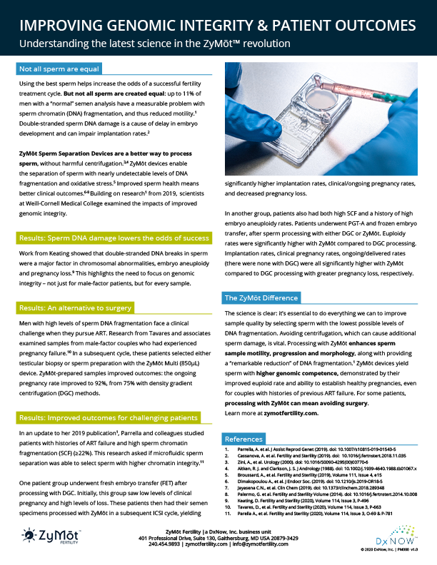 Improving Genomic Integrity & Patient Outcomes